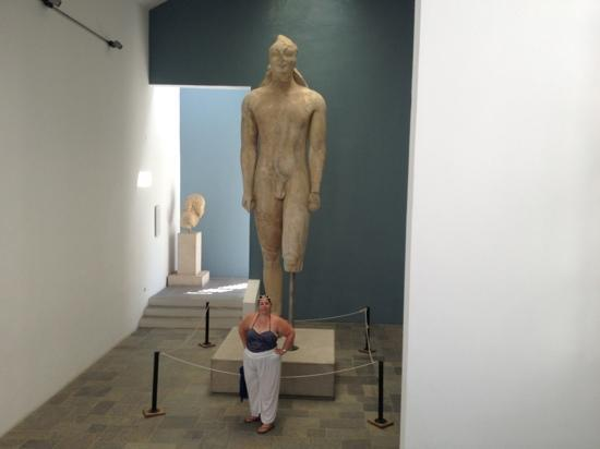 Archaeological Museum: huge statue