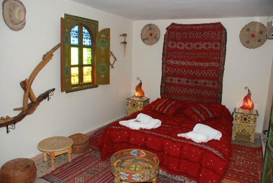 Riad Lahboul: Berber double room on the terrace
