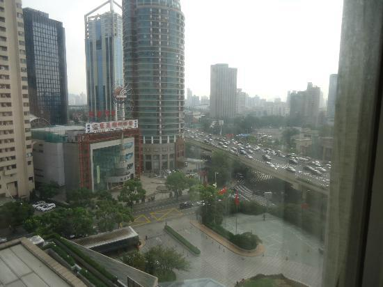 Renaissance Shanghai Yangtze Hotel: View from 10th Floor (think there were 18 in total