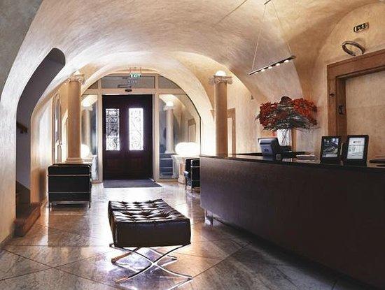 Skaritz Hotel & Residence: reception