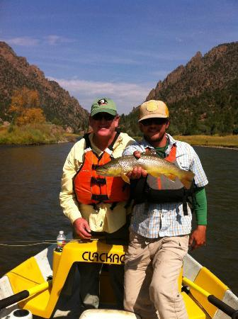Cutthroat Anglers: Gary and Adam (our guide)