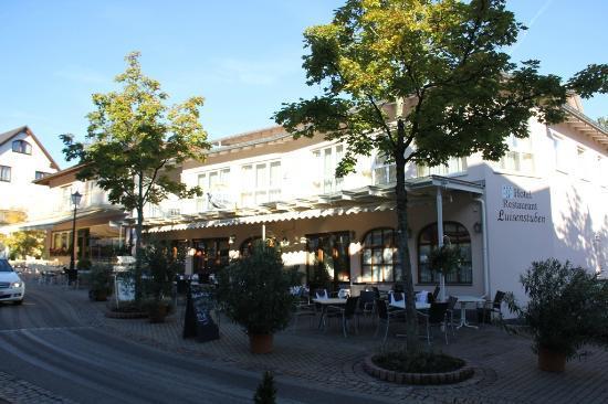 Hotel Luisenstuben: Voorkant Hotel Luisenstrasse, Badenweiler.