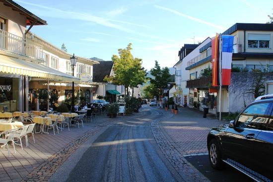 Luisenstrasse in Badenweiler.