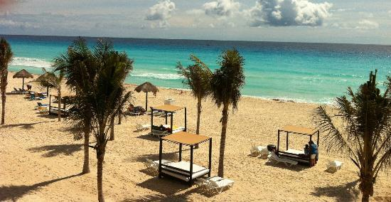 Grand Oasis Cancun - All Inclusive: vue sur la plage