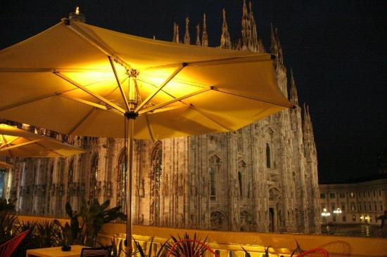Il Duomo Dalla Terrazza Picture Of Terrazza Aperol Milan