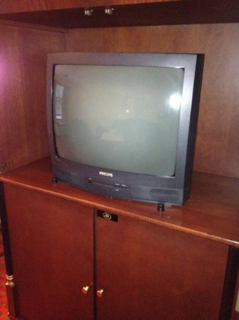 Captains Quarters Motel and Conference Center : old fashion tv