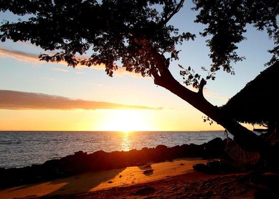 Manga Soa Lodge: lever de soleil