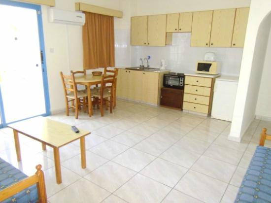 Kefalonitis Hotel Apts.: Apartment Kitchen