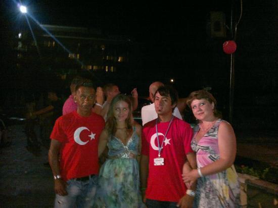 Ozkaymak Alaaddin: Последний вечер!турецкая ночь)))