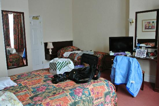 Arundel House Hotel: Spacious superior twin
