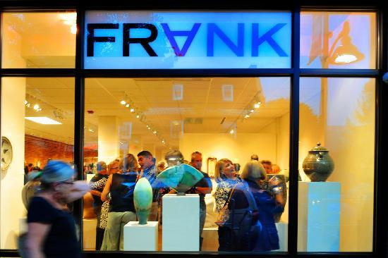 FRANK Gallery in downtown Chapel Hill