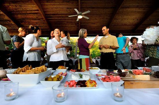 Chapel Hill, NC: Harvest Dinner at the Pavilion, Historic Downtown Hillsborough