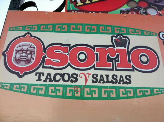 Osorio: Street sign