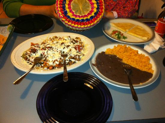 Osorio: The Alambre :) :) :) Yummy