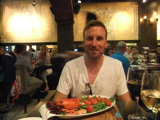 Morelli's Restaurant: My first taste of lobster