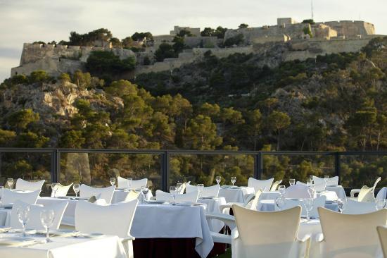 Hotel Maya Alicante: Vista Terraza Atico