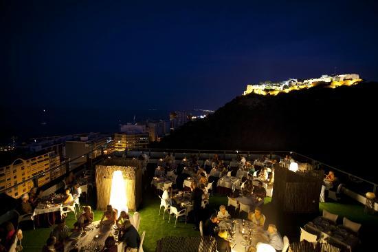 Hotel Maya Alicante: Terraza Atico