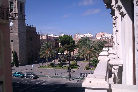 Hostal Balcon al Mar : nice view from room nr. 21