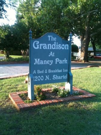 The Grandison at Maney Park: The sign out front hints at the elegance within.