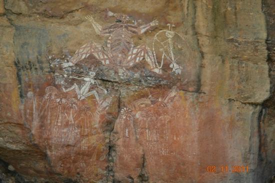 Aurora Kakadu Hotel: arte aborigena
