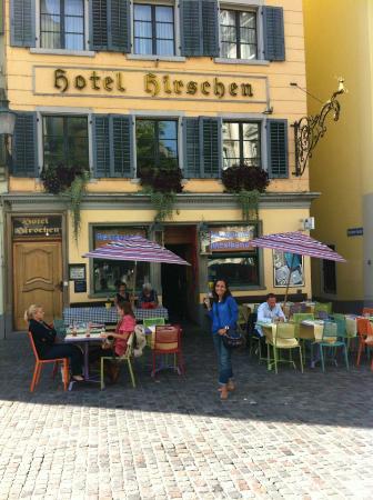 Hotel Hirschen facade