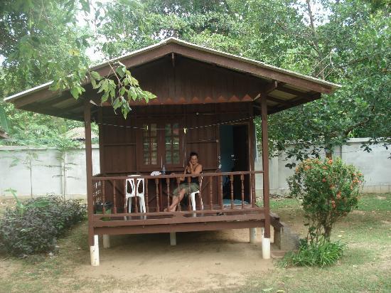 Green Villa : Bungalow mit Warmdusche 450 Bath