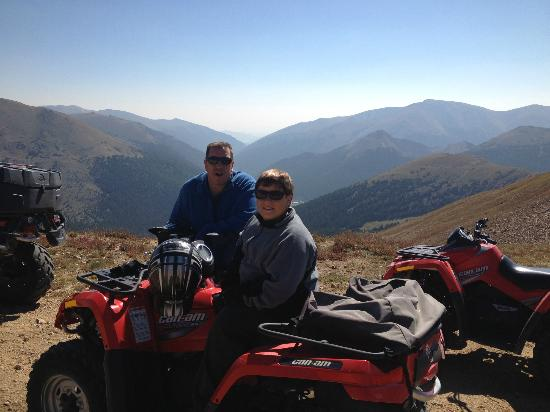 ATV Experience: Jones Trail: On the Continental Divide Looking East