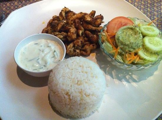Fatty's: chicken gyros