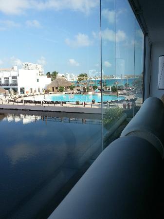 Club Med Cancun Yucatan: View from La Hacienda