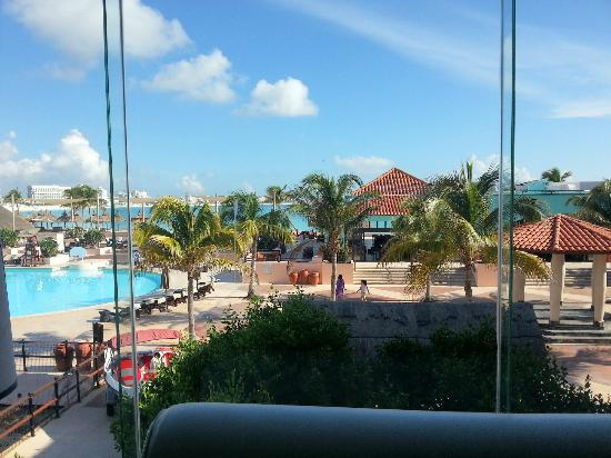 Club Med Cancun Yucatan: View from La Hacienda