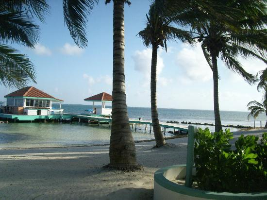 Belizean Shores Resort: view from our unit