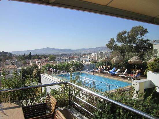 Electra Palace Athens: rooftop pool views