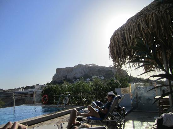 Electra Palace Hotel - Athens: pool views