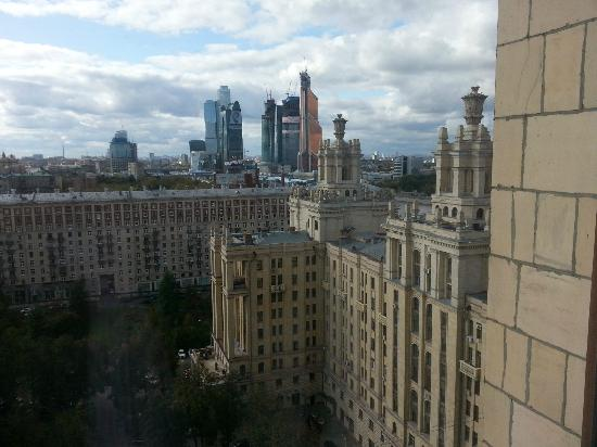 Radisson Royal Hotel Moscow: Superior Room - View
