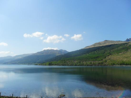 Lochside Guest House: view from the Guest House