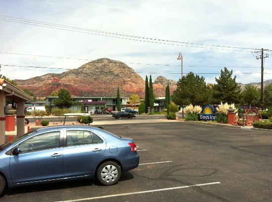 Days Inn Sedona: View from front door
