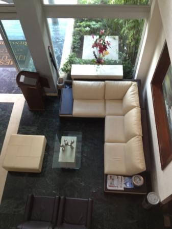 Meson Ejecutivo Hotel: sala de espera del lobbie!!!