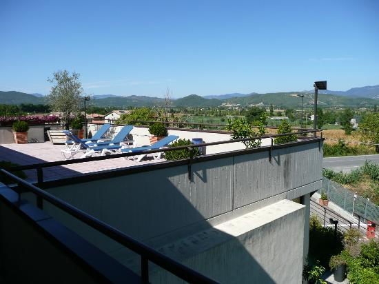 Anghiari Hotel: Panorama dalla camera