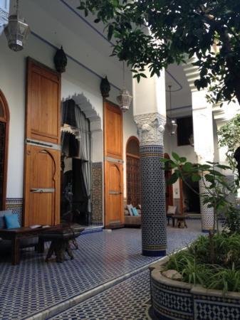 Palais Amani from the garden