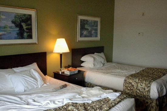 Grand Harbor Resort and Waterpark: Our room at Grand Harbor
