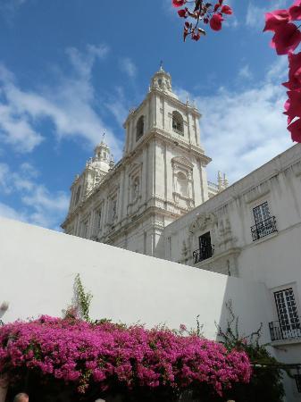 Igreja da Sao Vicente de Fora: Vista della chiesa
