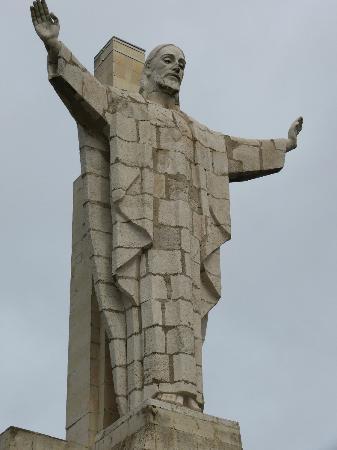 Monte Naranco : El Sagrado Corazón de Jesús