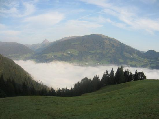Gasthof Berghof - stunning views from our room to Kitzbuhler alps