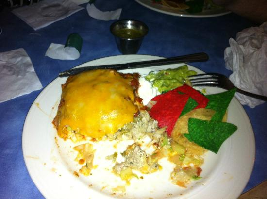 Blue Iguana: Chicken Burrito!!