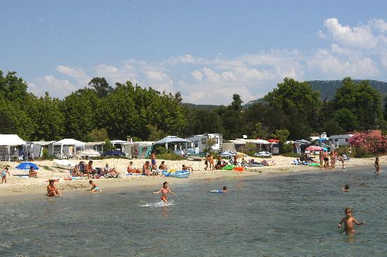 Camping De La Plage : La plage
