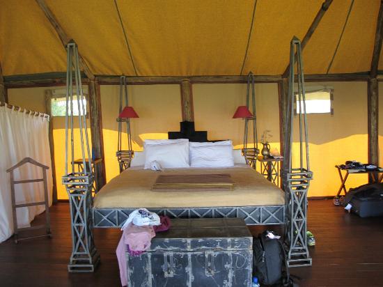 Kilima Camp: good sized bed