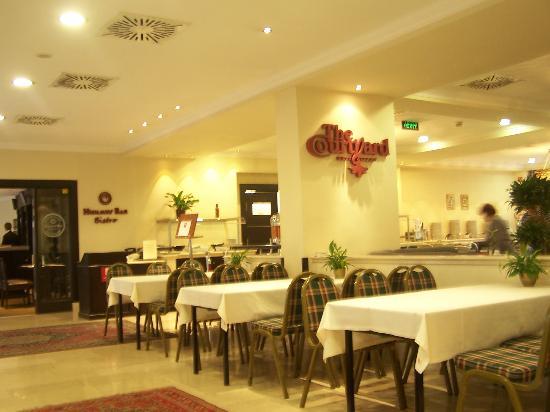 Leonardo Hotel Budapest: ontbijt gedeelte