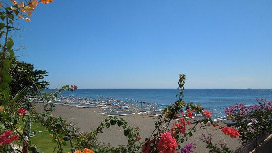 Palm Garden Amed Beach & Spa Resort : Palm Garden Amed - Strand