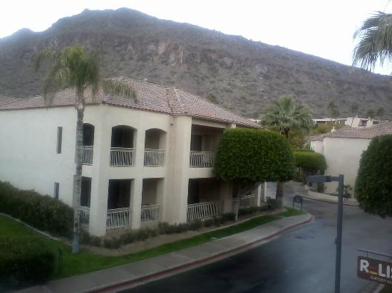 The Phoenician, Scottsdale : View from a restaurant on the property.