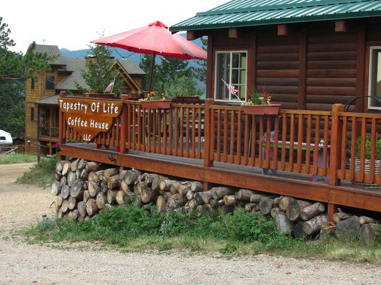 Tapestry of Life Coffee House: Porch